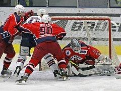 Brodští hokejisté zakončili prvoligové boje ve čtvrtfinále s Chomutovem, přesto stále trénují.