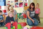 Mateřské centrum Zvoneček pro maminky a děti připravilo přednášku o bezpečnosti. Foto: Deník/Lucie Ješátková