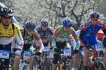 Brodští závodníci Veloservis Teamu se zúčastnili MTB závodů na Kunětické Hoře.