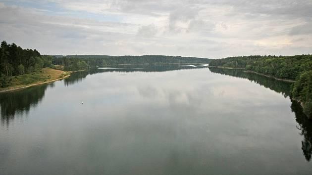 Přehradní nádrž Želivka-Švihov. Ilustrační foto: