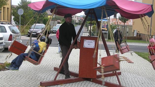 V sobotu se na náměstí konal Ždírecký podzimní jarmark.