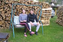 Apolena Kasalová je úspěšnou reprezentantkou v požárním sportu stejně jako její bratr Prokop.