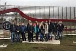 Studenti chotěbořské školy zavítali v rámci mezinárodního programu například i do legendární automobilky Alfa Romeo.
