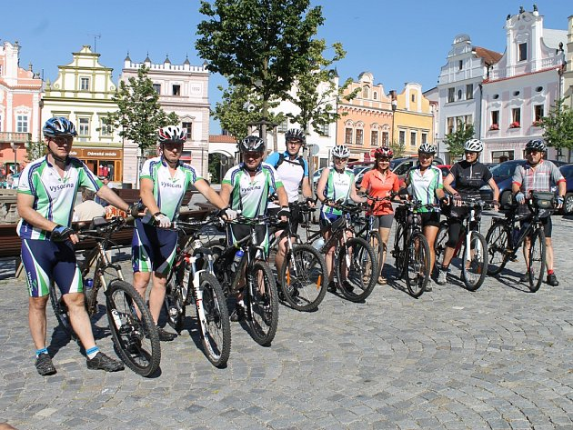 V pondělí odstartovala další etapa cyklistického výletu. Účastnit se ho mohl kdokoli.