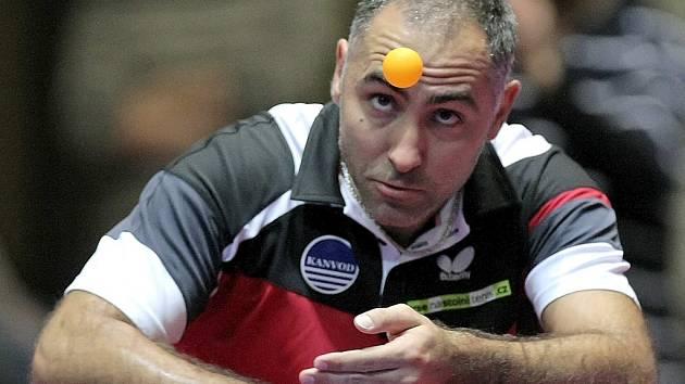 Odpočinek. Ten si v posledních dvou zápasech dopřál Petr Korbel, který potřeboval doléčit zranění. Proti Havířovu už nastoupil a ve třech setech porazil Beneše.