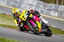 Celkově pátý skončil na italském okruhu Adria havlíčkobrodský jezdec Michal Prášek.