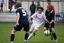 O dvě vítězství se postarala v ligové soutěži SpSM proti Břeclavi brodská U14 a U13.
