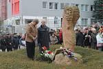 Vzpomínkového aktu se zúčastnili i zástupci partnerského nizozemského města Brielle.