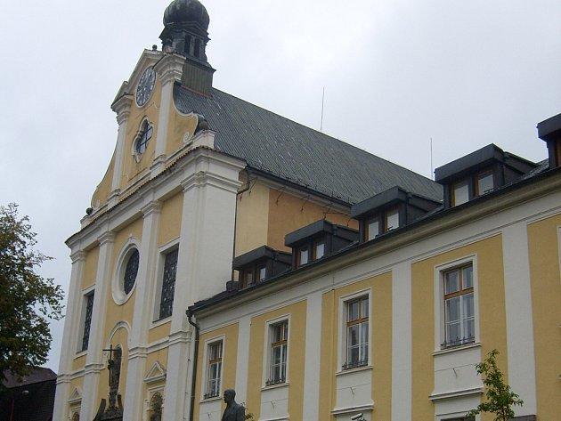 Kláštení kostel sv. Rodiny v Havlíčkově Brodě.