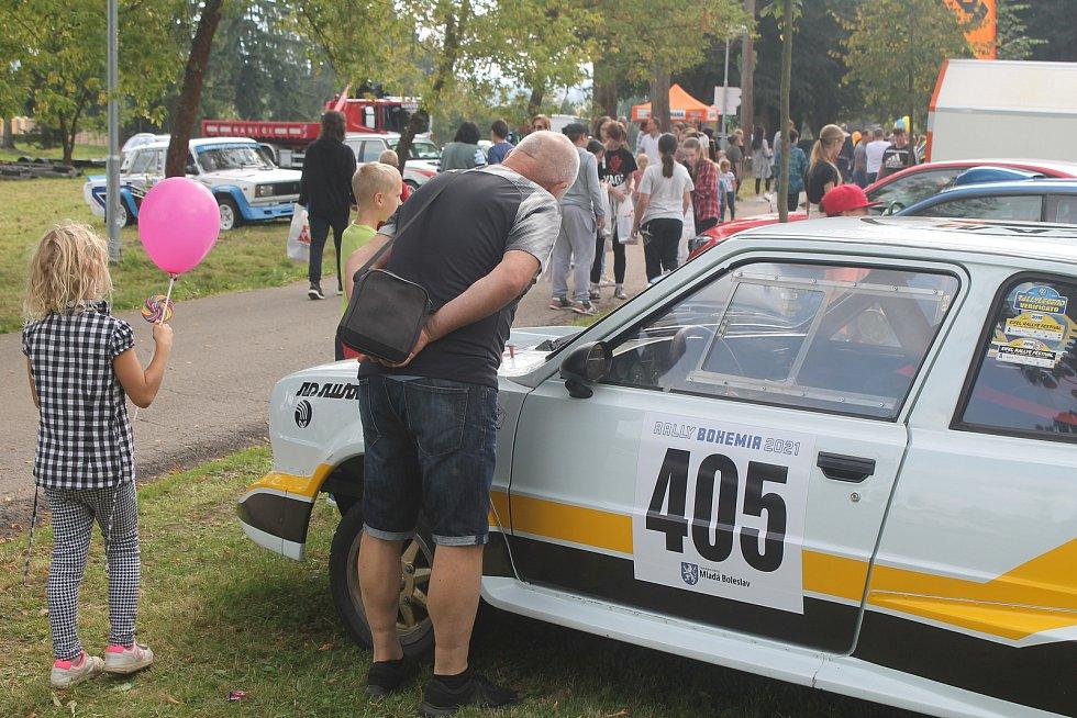 Unikátní Škoda 160 RS budila zájem. Oprávněně.