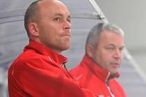 V loňské sezoně se Richard Cachnín (na snímku vlevo) objevoval i na lavičce seniorského týmu. Od příští sezony se však bude naplno věnovat juniorce.