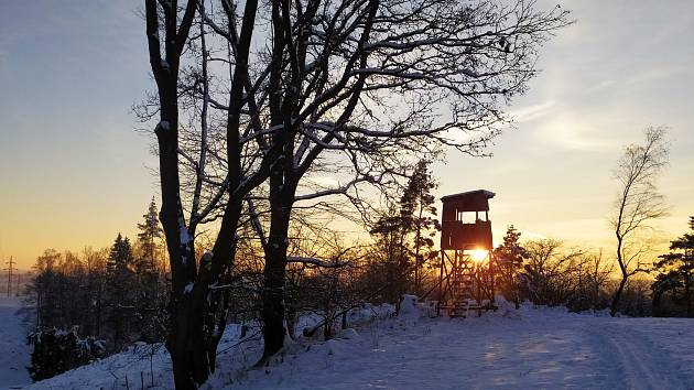 Na běžkách v okolí Havlíčkova Brodu