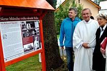 Při příležitosti letošního 100. výročí narození opata Víta Bohumila  Tajovského (3. 3. 1912 – 11. 12. 1999) došlo k slavnostnímu odhalení pamětní desky u jeho rodného domu v obci Klanečná.