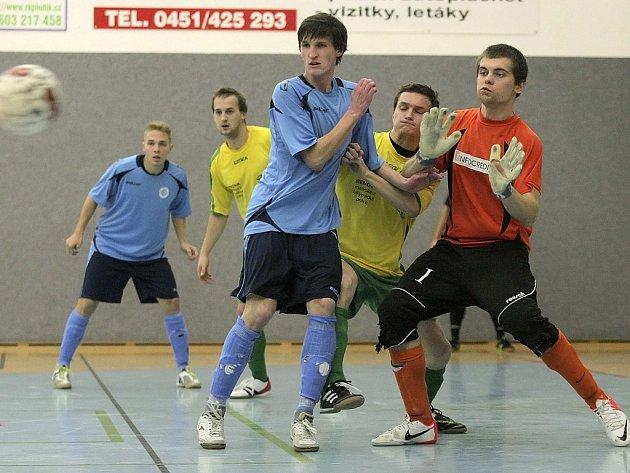 Dobrý výkon. Ten podle trenéra Jakeše podali futsalisté Chotěboře v Mělníku, ale na body to nestačilo.