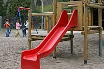 Monitorovací zařízení bude umístěno i do blízkosti dětského hřiště na Kalinově nábřeží.