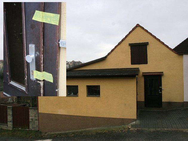 V tomto rodinném domku v třebíčské Tkalcovské ulici došlo letos v březnu k vraždě.