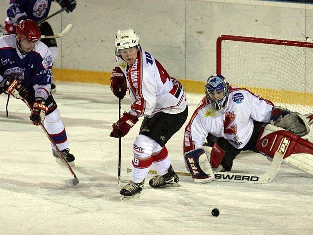 Ve šlágru kola dokázali hokejisté Žďáru porazit rivala z vrchu tabulky.