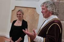 V hradní kapli svatého Vavřince na Lipnici se v neděli 23. července konal komponovaný program Lipnické svěcení 1417.