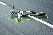 Žena se při pádu zranila. Ilustrační foto.