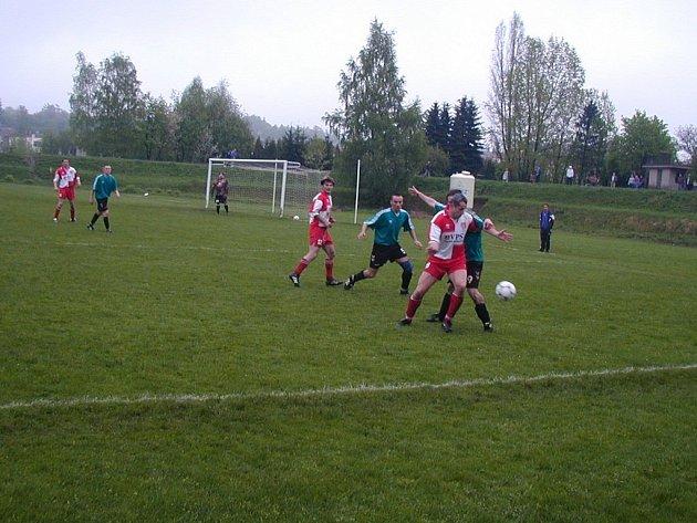 Chotěbořští fotbalisté uhráli tentokrát jen remízu v Kožlí.