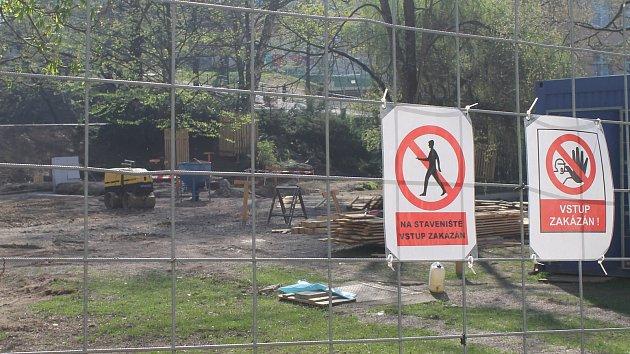 V havlíčkobrodském parku Budoucnost probíhá dlouho očekáváná revitalizace.
