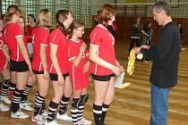 Mladší žákyně ze Světlé nad Sázavou se staly přebornicemi kraje Vysočina.
