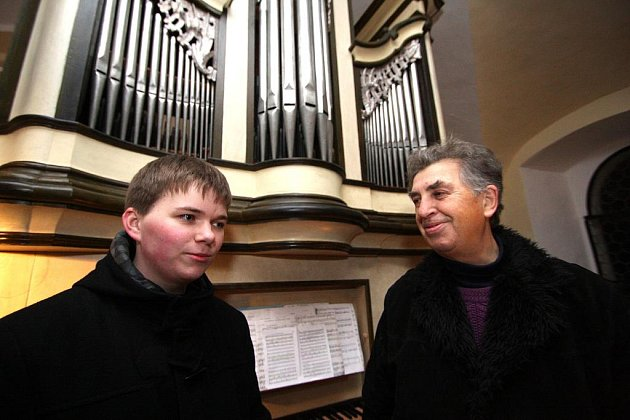 František Petr, na smímku vpravo