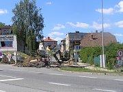 Úplně uzavřena je od července komunikace Nad Skalkou a Větrná v Havlíčkově Brodě.