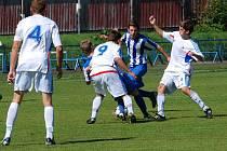 Liga je velké sousto. O tom se přesvědčují dorostenci brodského Slovanu. kteří doma odevzdali další body.