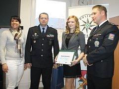 Pavla Henzlová z Žižkova pole v pondělí získala ocenění Gentleman silnic.
