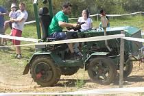 Traktoriáda v Modlíkově.