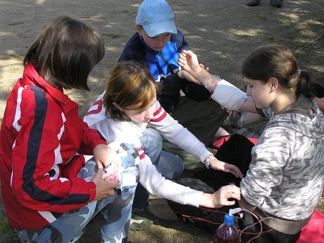 Pravidelně každý rok v květnu pořádá oblastní spolek Českého červeného kříže v Havlíčkově Brodě soutěže malých zdravotníků ze základních škol.  Možná některé z nich získané znalosti  pobídnou k tomu, aby v budoucnu řady spolku rozšířili.