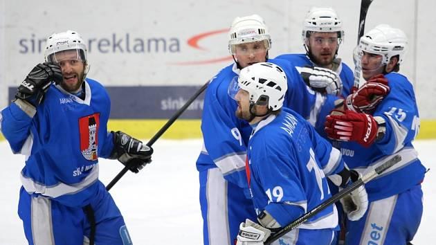 Hokejisté Světlé nad Sázavou.