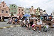 Týdny duševního zdraví na Havlíčkově náměstí v Havlíčkově Brodě.