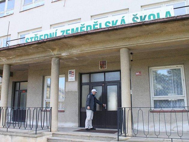 Bývalá Střední zemědělská škola v Havlíčkově Brodu.