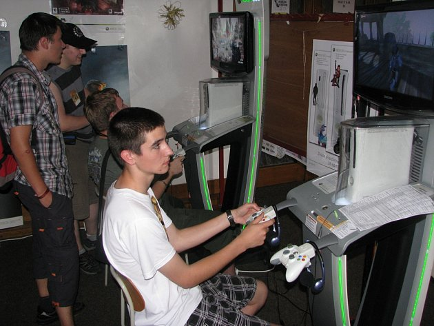 Jednou z klíčových součástí festivalu jsou i počítačové hry.