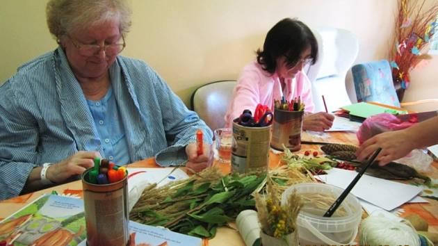Mezinárodní den seniorů si pacienti opravdu užili.