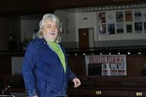 Organizátor brodského koncertu kapely Uriah Heep Antonín Axman.