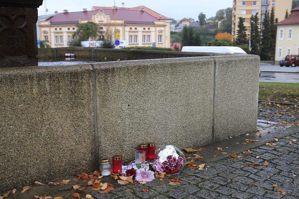 Pietní místo ve Světlé nad Sázavou.