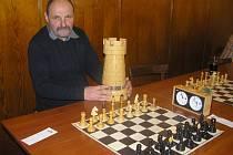 V Libici se utkali šachisté o putovní věž. Miloslav Bohuněk opět přemožitele nenašel.