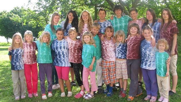 Účastníci tábora.