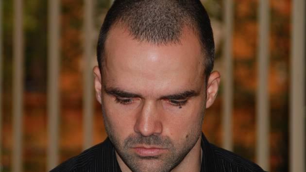 Marek Teplý alias El Marón na lavici obžalovaných u Krajského soudu v Brně.
