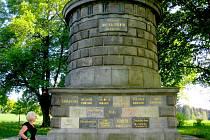 Právě v říjnovém čase, kdy uplynulo rovných 590 let od Žižkovy smrti, je k místu jeho skonu omezený přístup. Mohylu z kvádrů dovezených z různých měst postavil v roce 1874 německobrodský stavitel Josef Šupich.