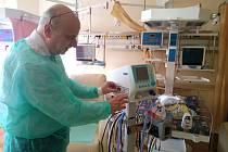Z loňské dotace nemocnice pořídila ventilátor pro podporu dýchání novorozenců.