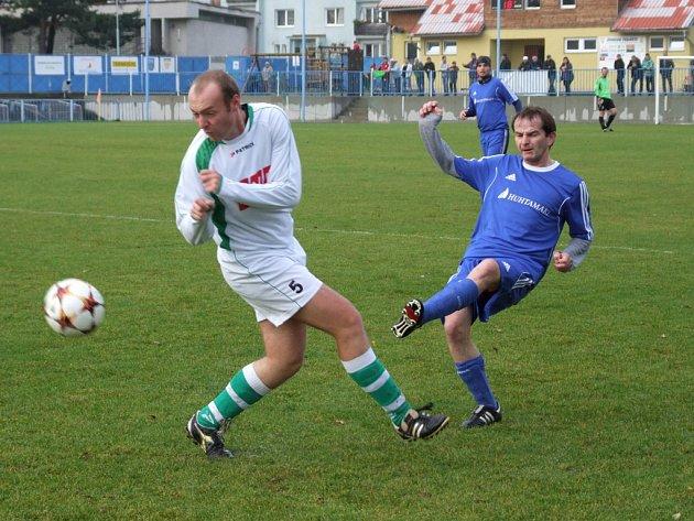 Fotbalisté Okříšek stále nemají nic jistého, klíčový pro ně bude zápas s Lukami.