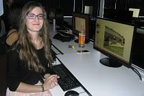 O štěstí v soutěži se pokoušela se svým návrhem také studentka Lucie Ostatnická.