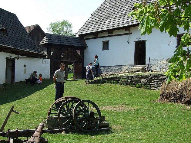 Michalův statek v Pohledi.
