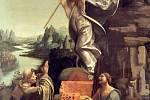 Vzkříšení italského malíře Antonia Boltraffia. Reprofoto.