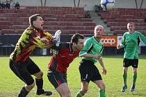 Oporou by měl být v důležitém zápase lipský brankář Milan Exner (na snímku vlevo).