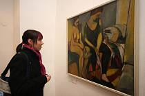 Vernisáž výstavy obrazů a soch s názvem Koupání - akt ve výtvarném umění v první polovině 20. století.
